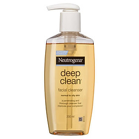 Neutrogena Deep Clean Facial Cleanser Normal to Oily Skin 200mL