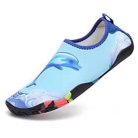 Giày đi biển lội nước chống trơn trượt, gọn nhẹ, sử dụng nhiều lần, phù hợp đi du lich, leo núi, thân thiện với môi trường, chịu nước tốt và nhanh khô, nhiều màu lựa chọn  SA050-B