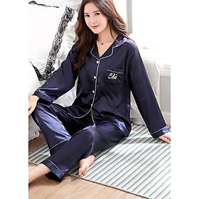 Đồ bộ mặc nhà Nữ chất liệu mềm mại thoải mái sang chảnh-206