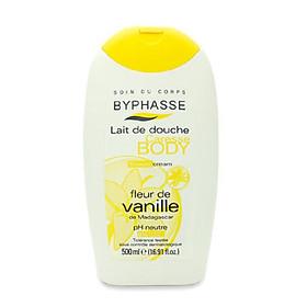 Sữa tắm vanille hương hoa quyến rũ cho chàng ngất ngây Byphasse 500ml