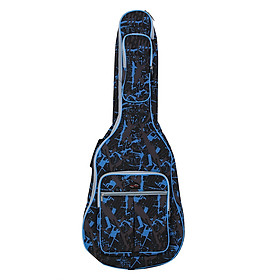 Túi Đàn Guitar Chống Nước 600D Họa Tiết Rằn Ri (40inchs)