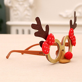 Tailored Creative Eyeglasses Christmas Glasses Frame for Christmas Holiday Party Toy