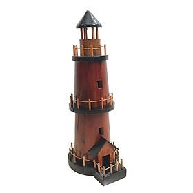 Mô hình gỗ trang trí ngọn hải đăng