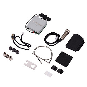 Acoustic Folk Classic Guitar Piezo Pickup Preamp Microphone Pickup Double Pick-up System with Microphone Volume Guitar