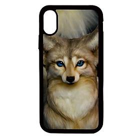Ốp lưng cho điện thoại Iphone Xs Max Con cáo - Hàng chính hãng