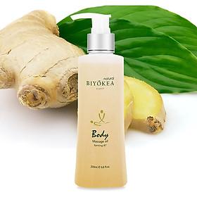 Dầu Massage Body Biyokea - Farming B7 (Làm nóng) - 200ml