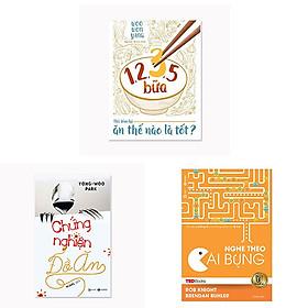 Download sách Combo 3 cuốn: TedBooks - Nghe Theo Cái Bụng + 1,2,3,5 Bữa - Nói Tóm Lại Ăn Thế Nào Là Tốt + Chứng Nghiện Đồ Ăn