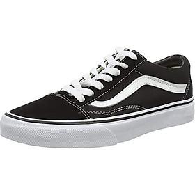 Vans Unisex Flame Cut Out Old Skool Black/True White Sneaker - 13