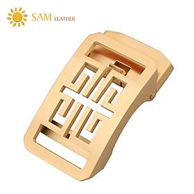 Mặt Khóa Thắt Lưng - Đầu Khóa Thắt Lưng SAM Leather SMDN006WV