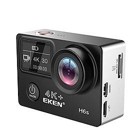 Camera Hành Trình Thể Thao Eken H6S 4K WIFI Tặng Bộ Phụ Kiện Cho Camera - Hàng Chính Hãng