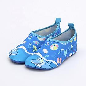 Giày Đi Dưới Nước Trẻ Em chống trơn trượt, gọn nhẹ, sử dụng nhiều lần, phù hợp đi du lich, thân thiện với môi trường, chịu nước và nhanh khô, bảo vệ chân bé tránh những vật sắt nhọn SK023