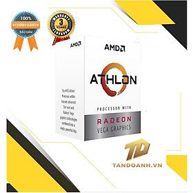 Bộ vi xử lý Athlon 3000G Processor with Radeon Graphics AM4- HÀNG CHÍNH HÃNG