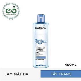Nước tẩy trang Loreal Paris 3-in-1 Micellar Water
