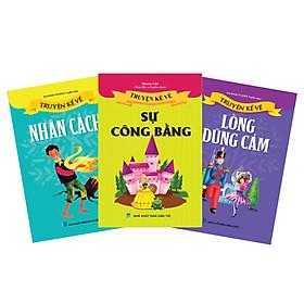 Sách thiếu nhi - Combo Truyện kể cho bé 4 (Tái bản)
