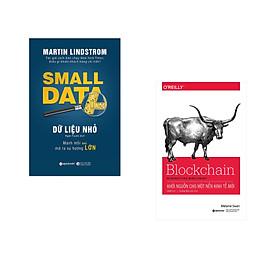 Combo 2 cuốn sách: Dữ Liệu Nhỏ  + Blockchain-Khởi Nguồn Cho Một Nền Kinh Tế Mới