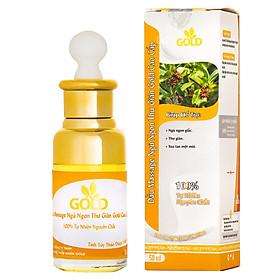 Dầu Massage Ngủ Ngon Thư Giãn Gold Cao Cấp (50ml)