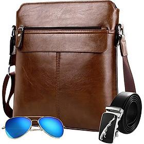 Túi đeo chéo nam (Tặng kèm kính,thắt lưng,ví)