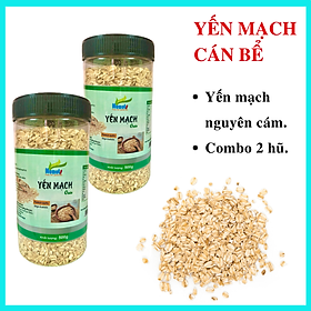 COMBO YẾN MẠCH NUNUTS  ( 2 HŨ 500G ) CÁN BỂ