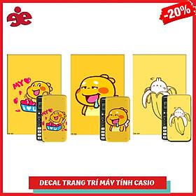 COMBO 5 DECAL QOOBEE TRANG TRÍ DÀNH CHO MÁY TÍNH CASIO / VINACAL