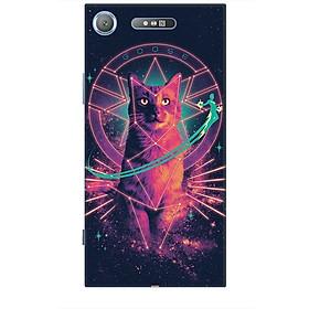 Ốp lưng dành cho điện thoại SONY XZ1 Mèo Phép Thuật