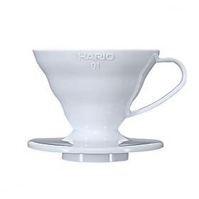 Phễu lọc cà phê bằng nhựa Hario V60 size 01