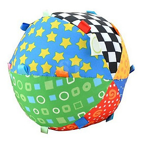 Hand Grasp Bell Cloth Ball Toys Gift For Kids/Baby/Infant Colorful Soft