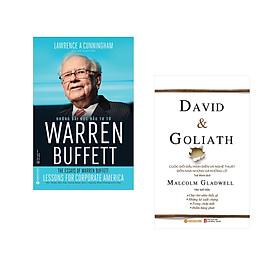 Combo 2 cuốn sách: Những Bài Học Đầu Tư Từ Warren Buffett  + David & Goliath