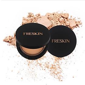 Phấn Phủ Collagen Kiềm Dầu và Che Khuyết Điểm – Freskin Sunshine Two-Way Cake SPF30++