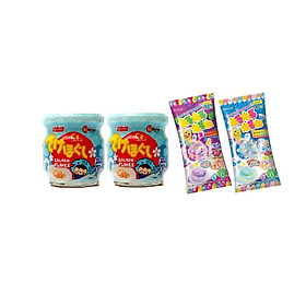 Combo 2 lọ ruốc cá hồi Meiwa vị nguyên bản  - Tặng 1 gói kẹo popin cookin vị soda + 1 gói vị grape