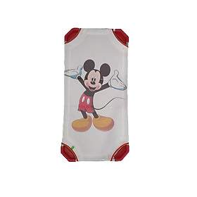 Giường lưới chuột Mickey - chân đỏ