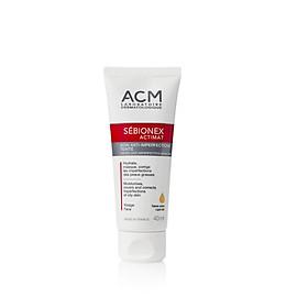 Kem dưỡng ngăn ngừa mụn che khuyết điểm Sebionex Actimat Light Tint Anti-Imperfection Skincare 40ml