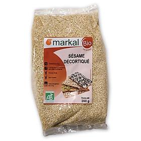 Hạt mè tách vỏ hữu cơ Markal 250g