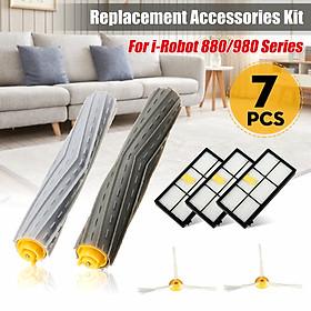 7Pcs Set Replacement  Parts Kit for iRobot 880 980 Series