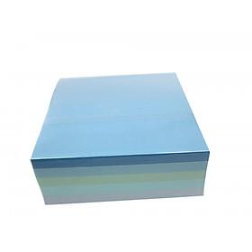 Giấy note màu 400 tờ Komoda (8.5 x 8.5 x 3.1cm) - Giao Màu Ngẫu Nhiên