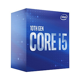 CPU Intel Core i5-10400F (2.9GHz turbo up to 4.3Ghz, 6 nhân 12 luồng, 12MB Cache, 65W) - Socket Intel LGA 1200 - Hàng Chính Hãng