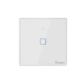 Công Tắc SONOFF T2UK3C-TX Điều Khiển Từ Xa Qua Wifi Cảm Ứng Hẹn Giờ Tiêu Chuẩn Hoa Kỳ (433Mhz) - Trắng