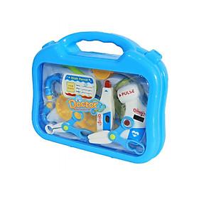 Hộp đồ chơi bác sĩ Toys House tặng xe trượt đà cho bé VBCare-123-6 (ngẫu nhiên)