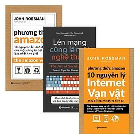 Combo Lên Mạng Cũng Là Một Nghệ Thuật + Phương Thức Amazon + Phương Thức Amazon – 10 Nguyên Lý Internet Vạn Vật (Bộ 3 Cuốn)