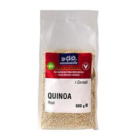 Hạt diêm mạch trắng hữu cơ Sottolestelle 500g Organic Quinoa Real