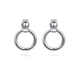 Khuyên tai tròn nam nữ - bông tai thời trang cá tính (bán theo chiếc)