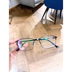Mắt kính giả cận cao cấp gọng kim loại dành cho cả nam và nữ BDGC42
