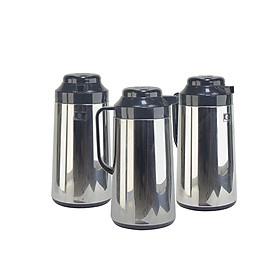 Phích pha trà giữ nhiệt dung tích 1 lít Rạng Đông, vỏ inox, nắp nhựa, Model: RDD1040 ST2-1L