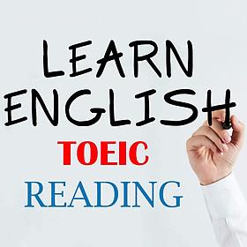 Khóa Học Bí Quyết Chinh Phục Toeic Reading