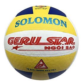 Bóng chuyền dán Gerustar Số 5 - Solomon (Tặng Băng dán thể thao + Kim bơm + Lưới đựng)