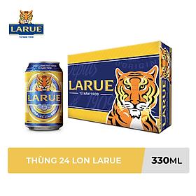 Thùng 24 Lon Bia Larue (330ml/lon)