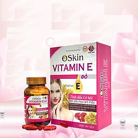 Viên Uống Oskin Vitamin E đỏ(Hộp 30 viên)