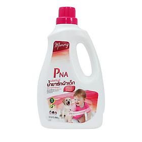 Nước giặt hữu cơ kháng khuẩn cho bé từ sơ sinh đến lớn tuổi nhập khẩu Thái Lan PNA - Mommy 3000ml