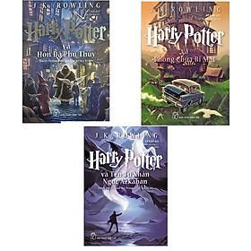 Combo sách Harry Potter tập 1,2 và 3