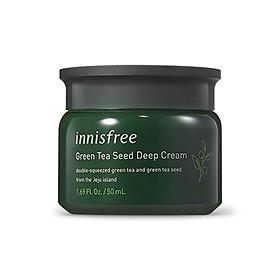 Kem Dưỡng Da Innisfree Green Tea Seed Deep Cream 50ml