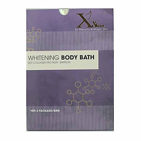 Kem dưỡng trắng da body XSKIN Whitening Body Bath ngày và đêm (250G)